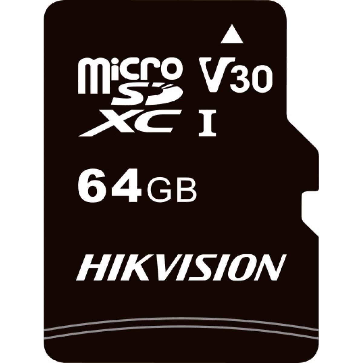 Cartão de Memória Hikvision Micro SD 64GB, Class 10