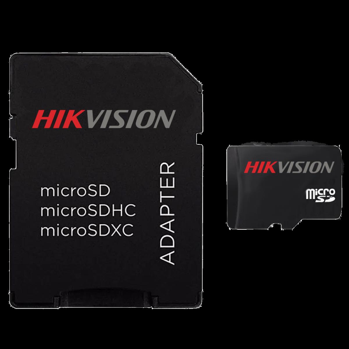 Cartão de Memória Hikvision Micro SDHC I, V10, 32GB, Class 10, HS-TF-C1/32G - COM ADAPTADOR