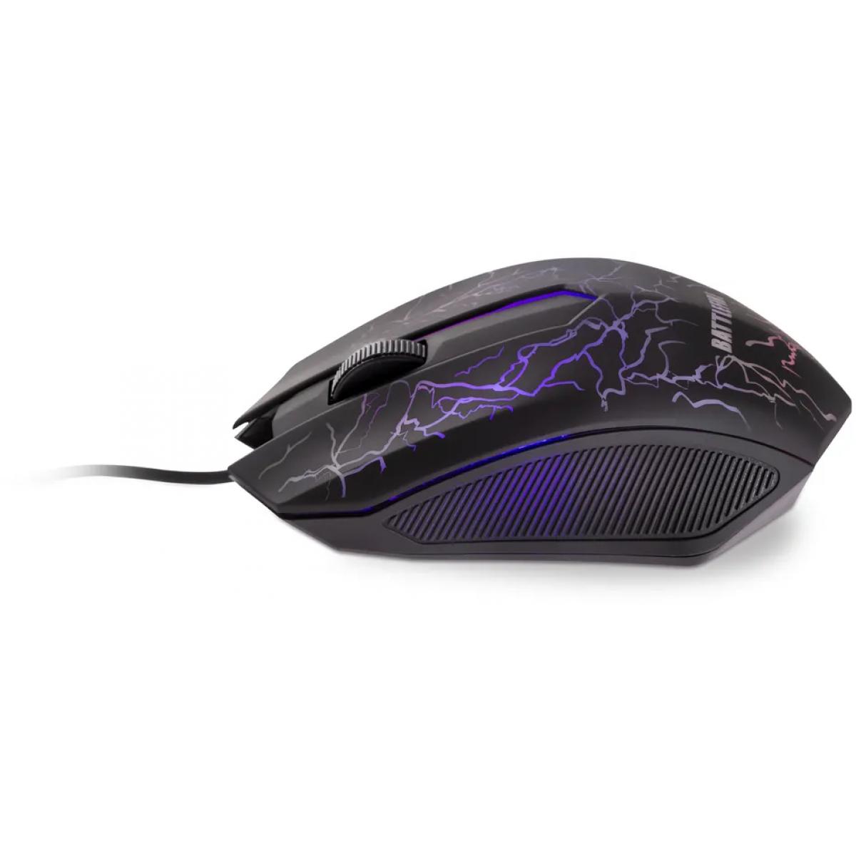 Combo Gamer Dazz Battlefire Revolution, Teclado e Mouse, 625021