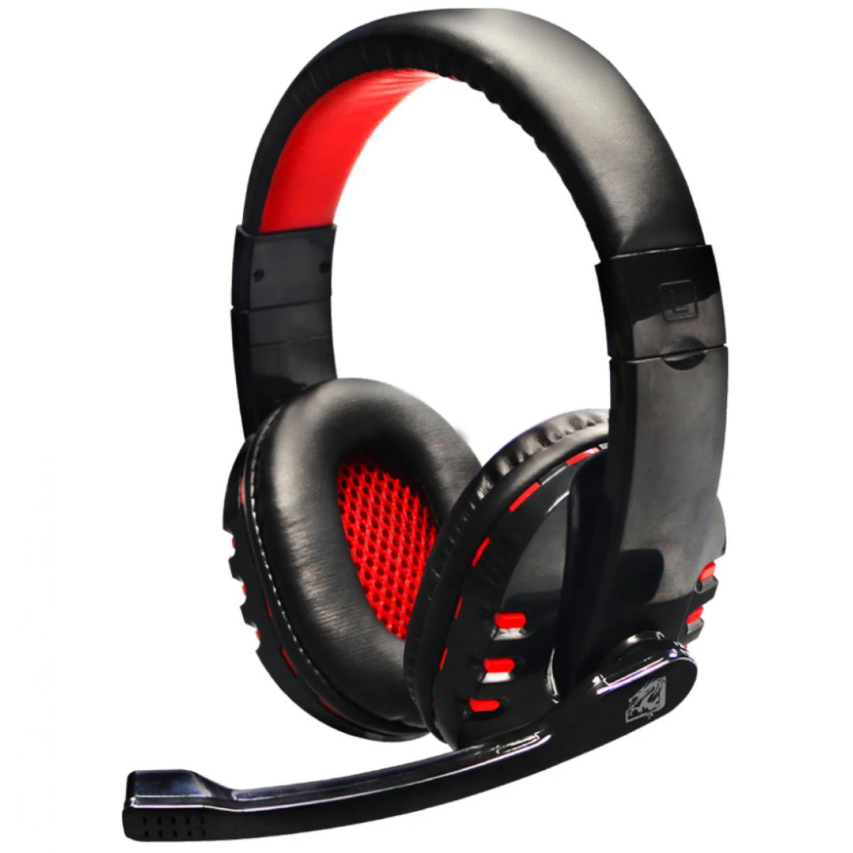 Combo Gamer ELG Striker 4 em 1, Teclado, Mouse, Headset, Mousepad, Red, CGSR41