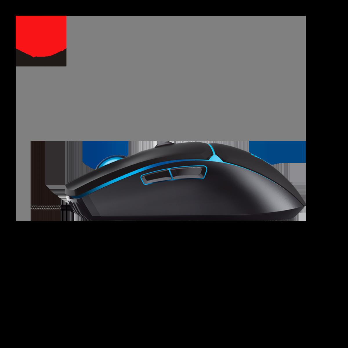 Combo Gamer Fantech Major Teclado e Mouse, KX-302s