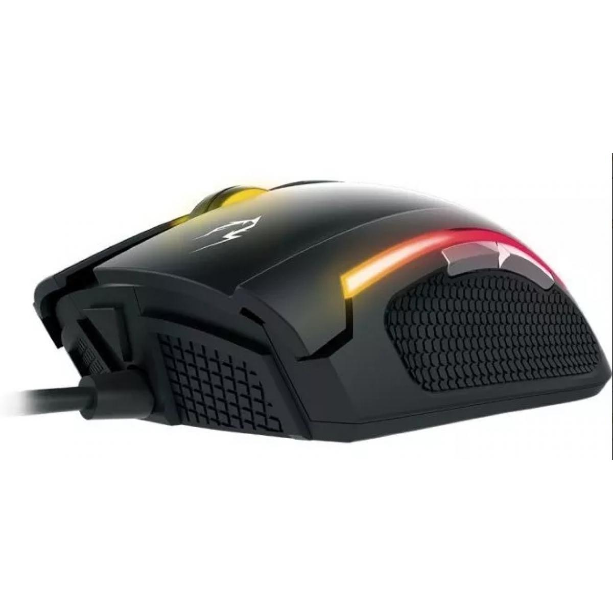 Combo Gamer Teclado e Mouse Gamdias Ares M1 3200DPI
