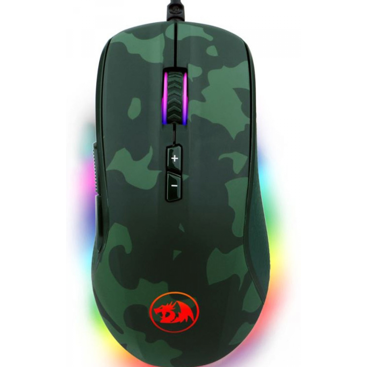 Combo Gamer Redragon, Teclado Mecânico e Mouse Rainbow, Hunter S108