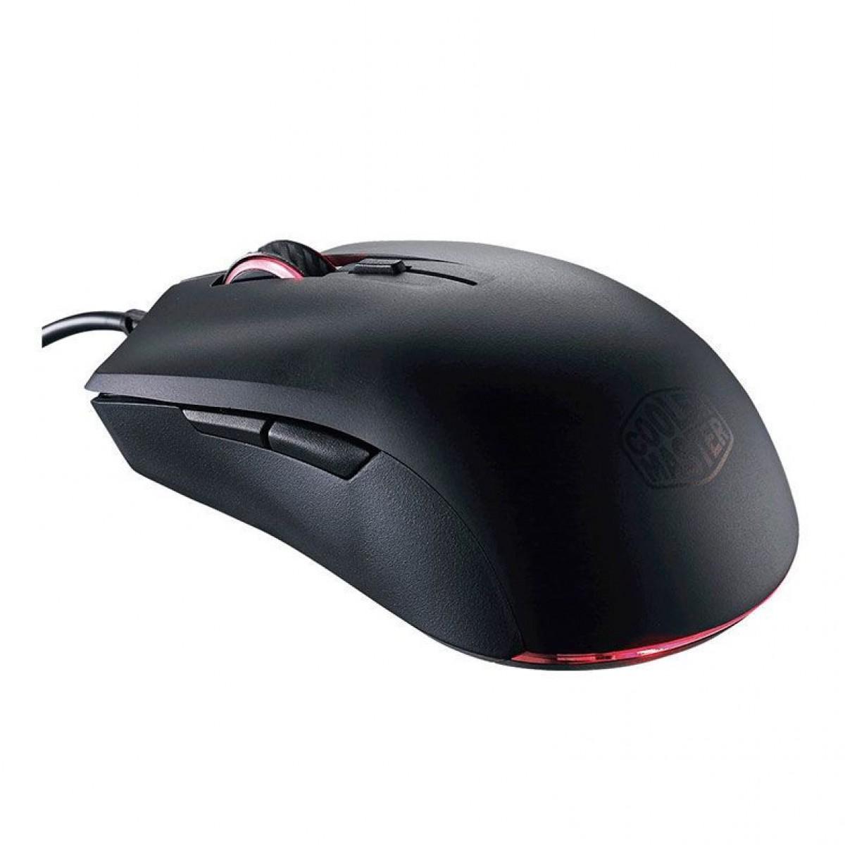 Combo Teclado e Mouse Gamer Cooler Master MasterKeys Lite L RGB SGB-3040-KKMF1-BR