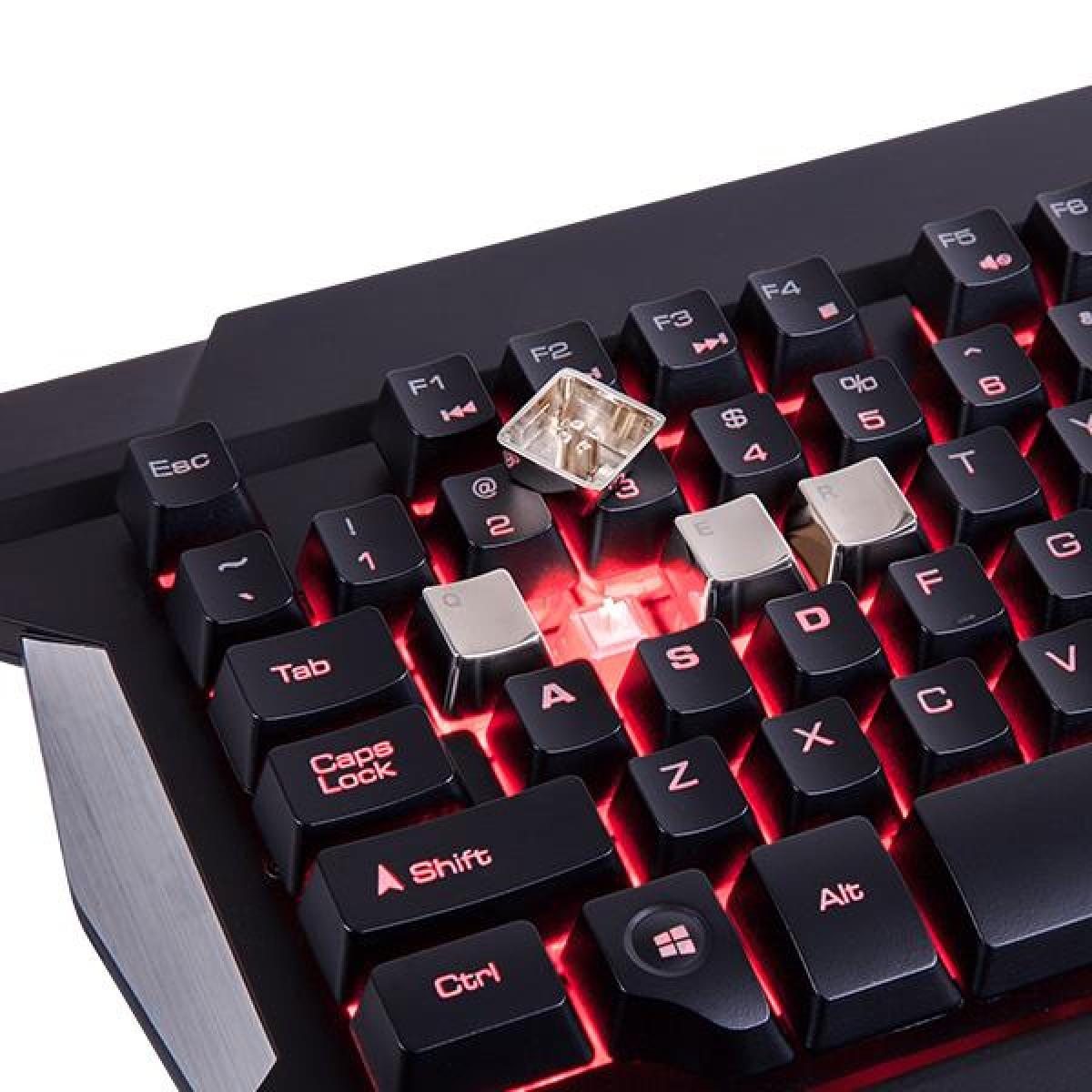 Teclado e Mouse Gamer Thermaltake TT Sports Commander Combo Multi Backlit