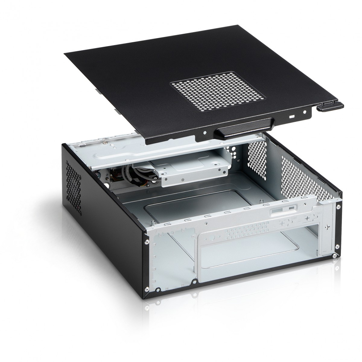 Computador NTC Compact T-Home Intel Celeron J4005 / 4GB DDR4 / SSD 120GB / Linux