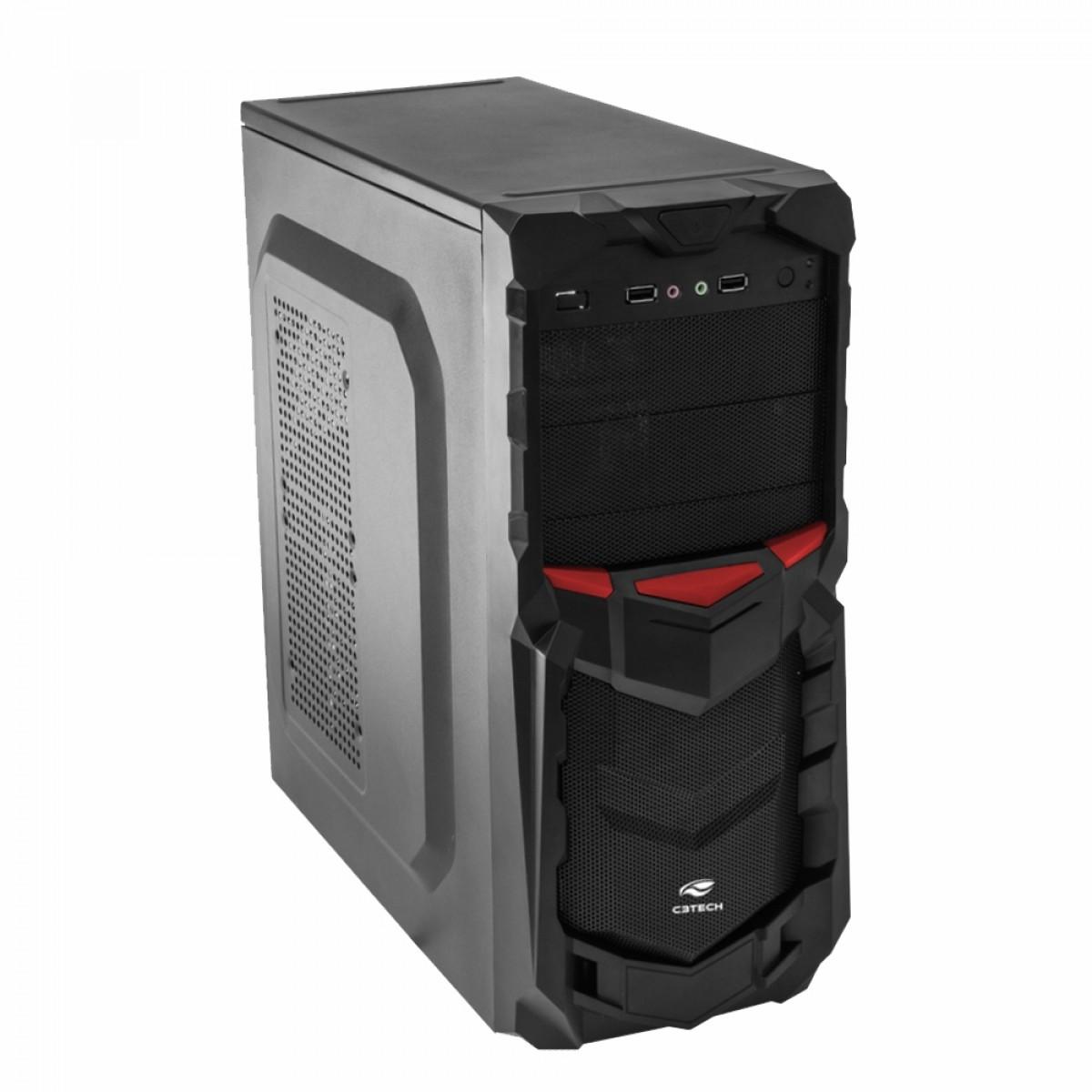 Computador Pauta Gamer Conquest T-MOBA Ryzen 5 3500/ 8GB / 240GB SSD / FREEDOS / RADEON RX 550 4GB DDR5