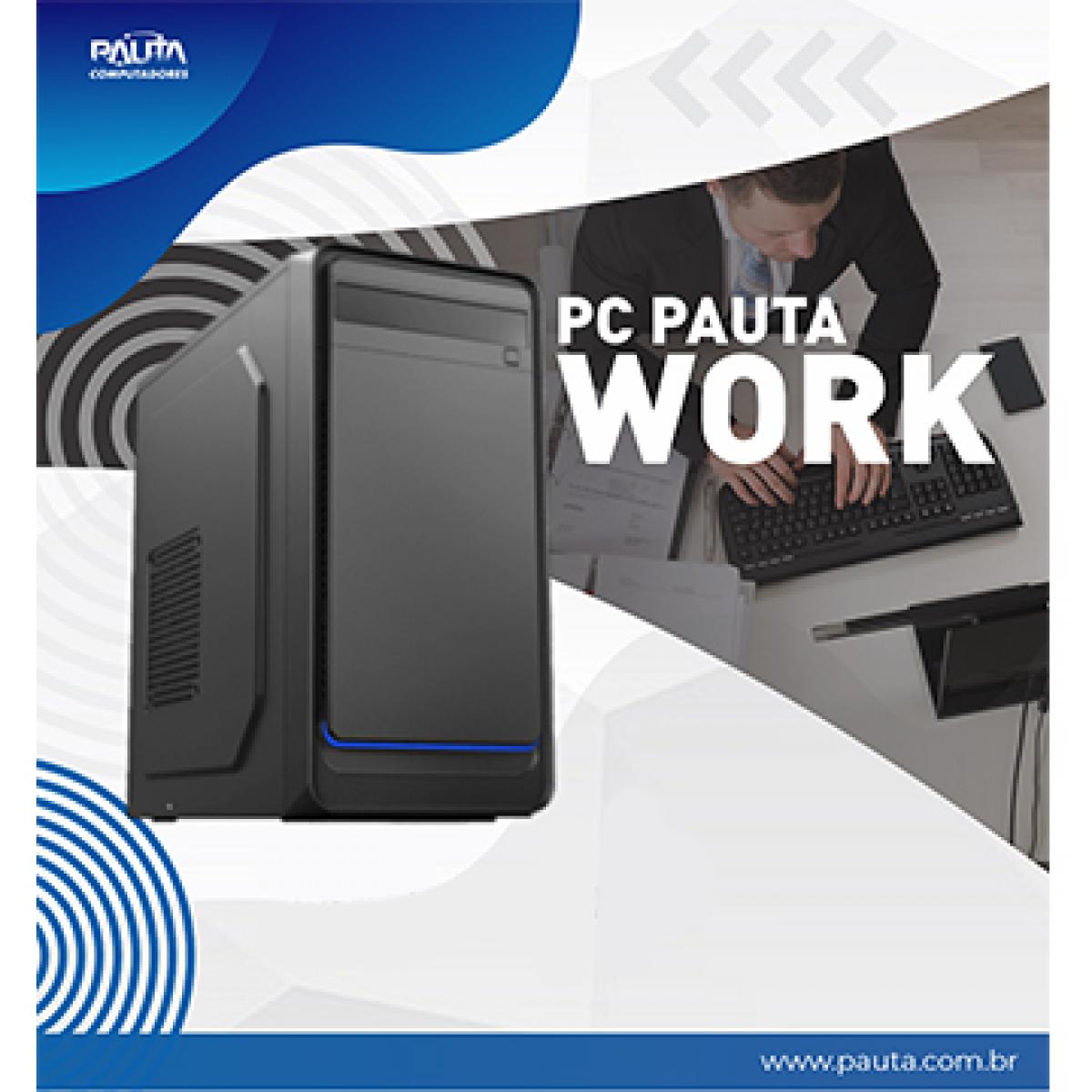 Computador Pauta Work T-Home Ryzen 3 2200G / 4GB / 240GB SSD / FreeDOS