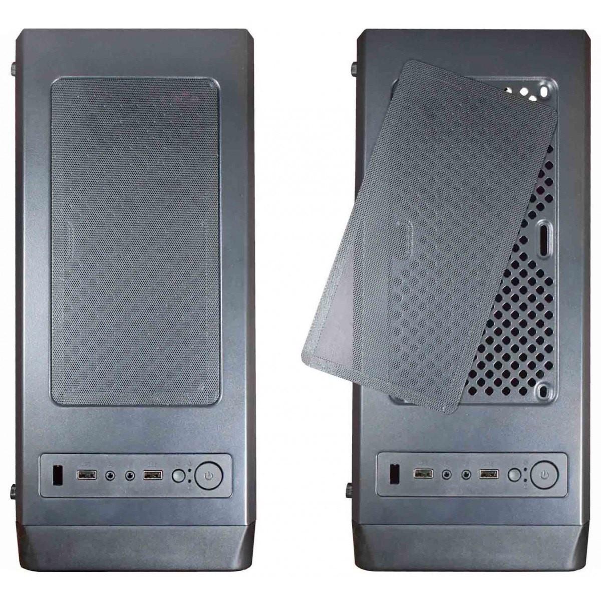 Computador T-Home EasyPC Intel Core I5 650 / 8GB / 500GB / GT 710 / Kit Fan Blue
