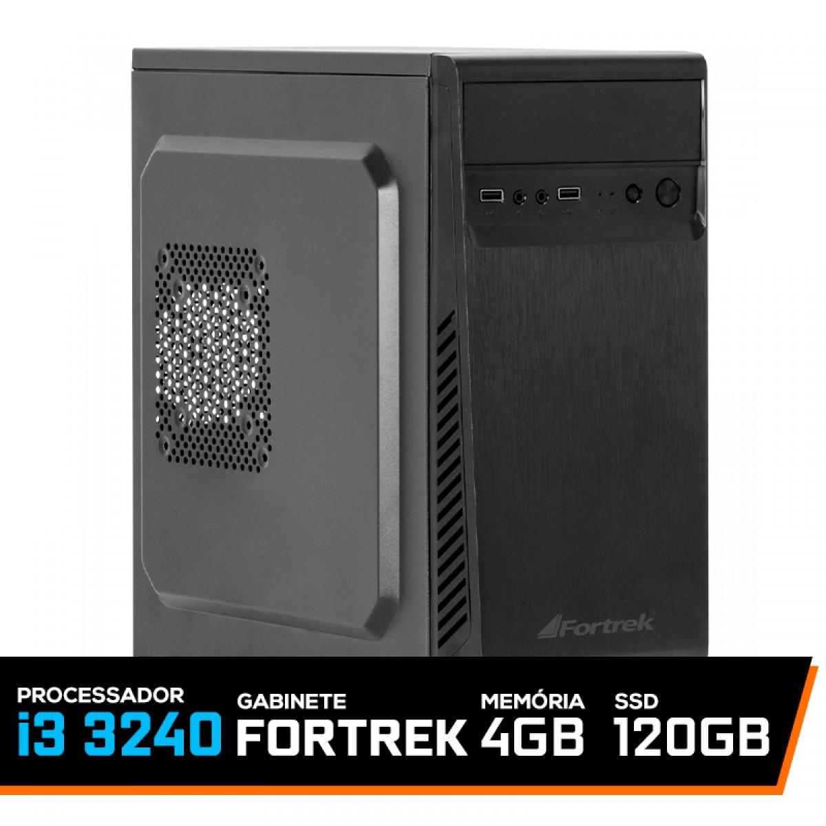 Computador T-Price LVL-3 Intel i3 3240 / 4Gb DDR3 / SSD 120GB