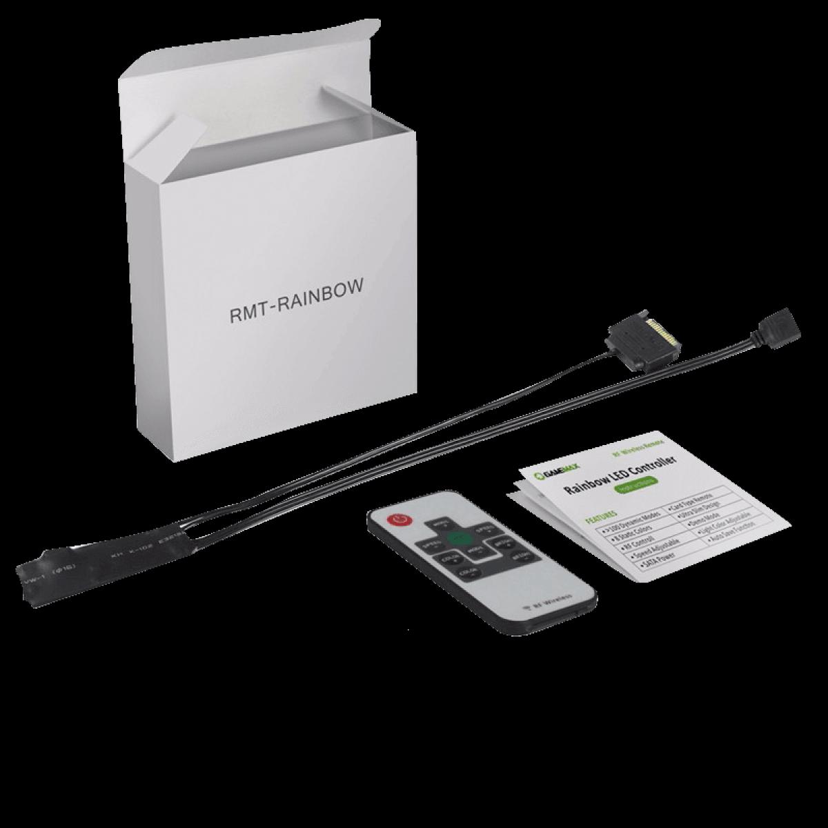 Controlador de Fan Gamemax GMX, ARGB, RMT1673N
