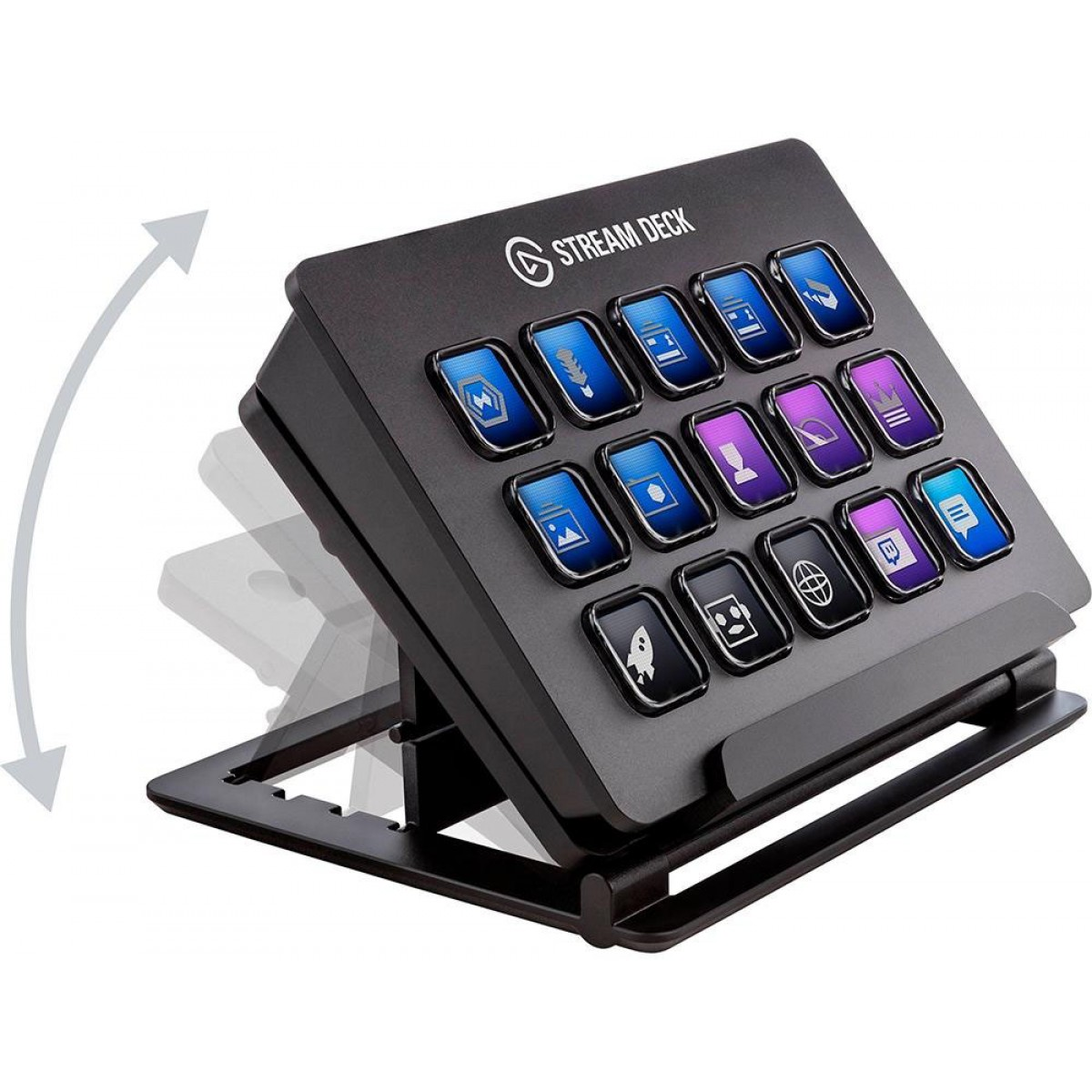 Controlador de Transmissão Stream Deck Elgato, USB Integrado, 10GAA9901