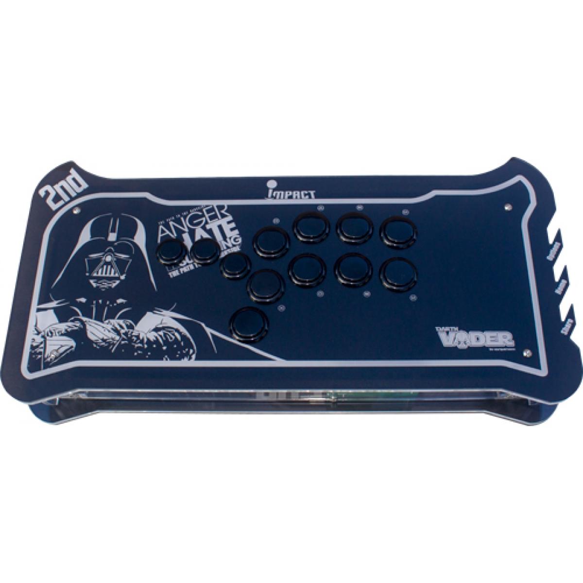 Controle Arcade para PC, PS3 e PS4 2ND Impact Hitbox Darth Vader Full Acrílico