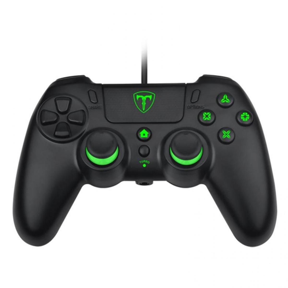 Controle T-Dagger Virgo, PS4, Black, T-TGP800