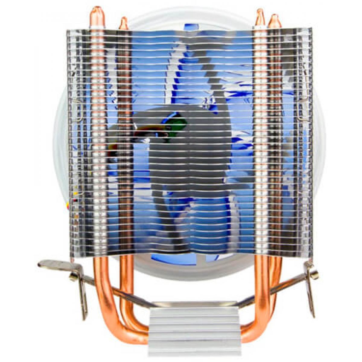 Cooler para Processador Alseye Aurora 120T, LED Azul 140mm, Intel-AMD, ASAR120T
