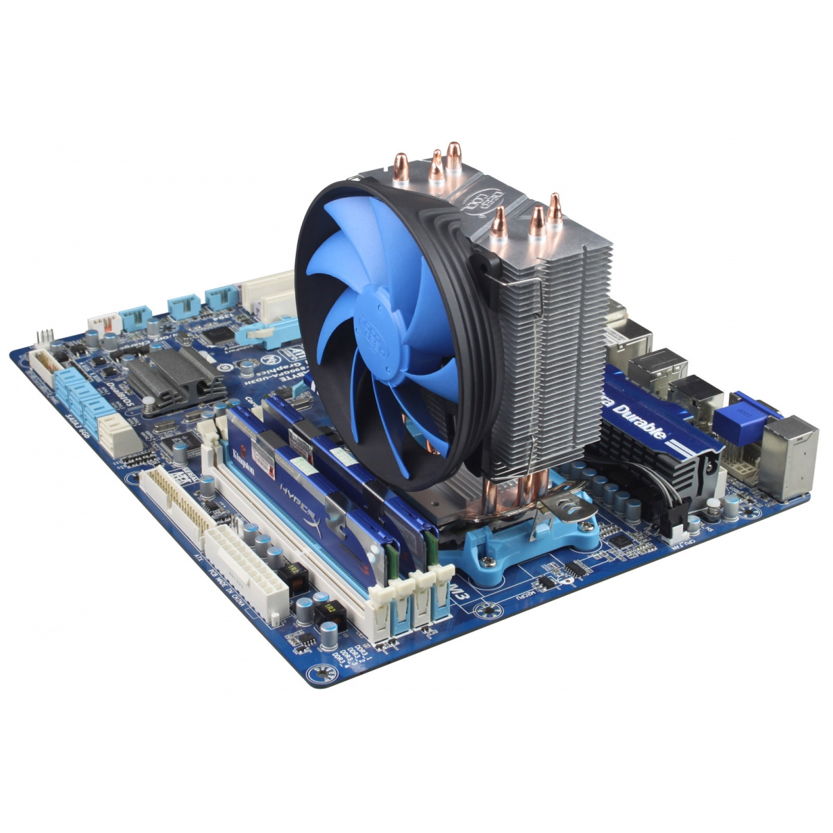 Cooler para processador DeepCool Gammaxx 300, Blue 120mm, Intel-AMD, DP-MCH3-GMX300