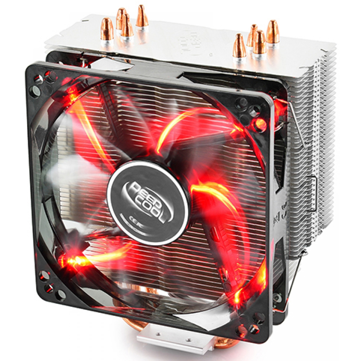 Cooler para Processador DeepCool Gammaxx 400, LED Red 120mm, Intel-AMD, DP-MCH4-GMX400RD