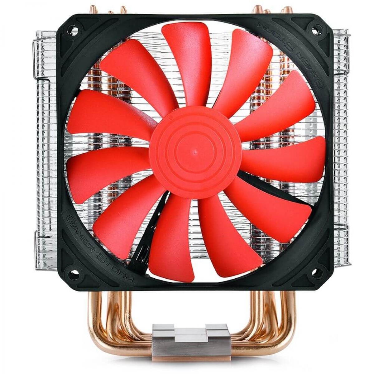 Cooler para Processador DeepCool Lucifer K2, Red 120mm, Inte-AMD, DPGS-MCH6-LCK2