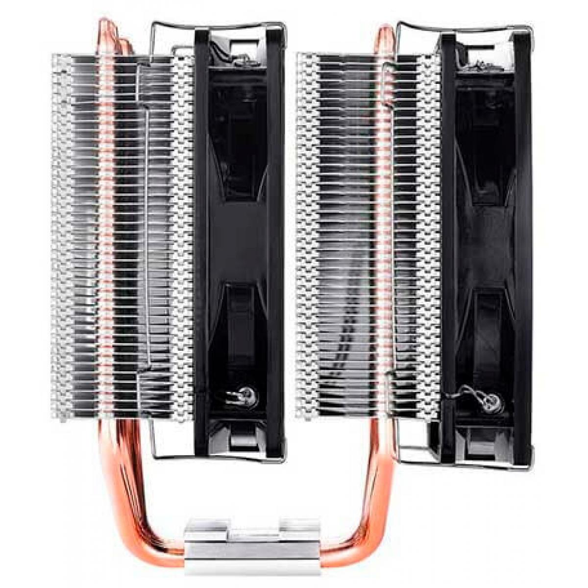 Cooler para processador Deepcool Neptwin V2, 120mm, Intel-AMD, DP-MCH6-NT-NTAM4