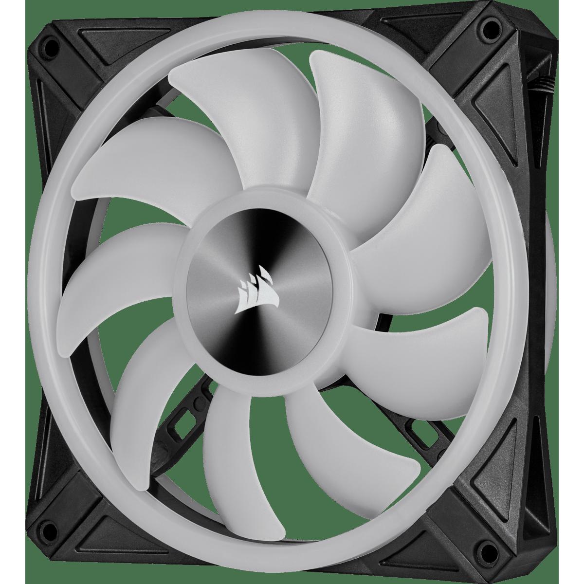 Cooler Para Gabinete Corsair RGB, 140mm RGB LED Fan, Dual Pack with Lighting CO-9050100-WW