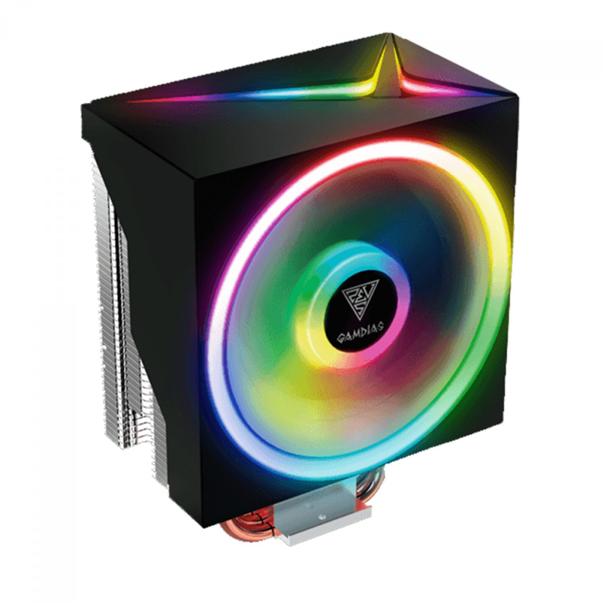Cooler Processador Gamdias Boreas M1-610, RGB, 120mm, Intel-AMD, BOREAS M1-610