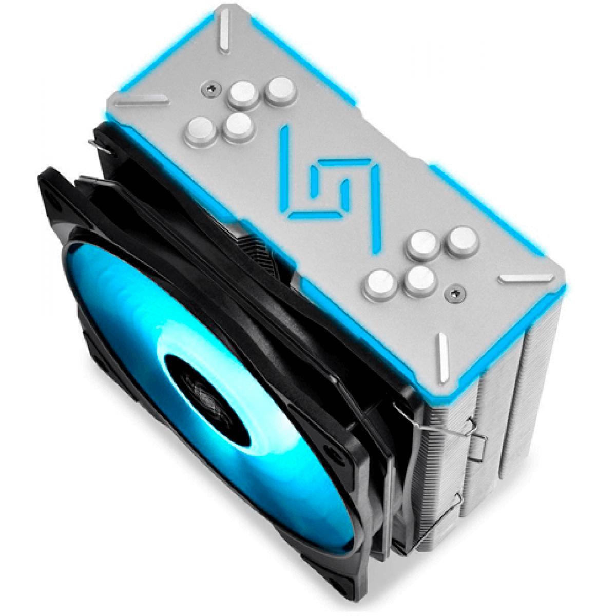 Cooler para Processador DeepCool Gammaxx GT, RGB 120mm, Intel-AMD, DP-MCH4-GMX-RGB-GT