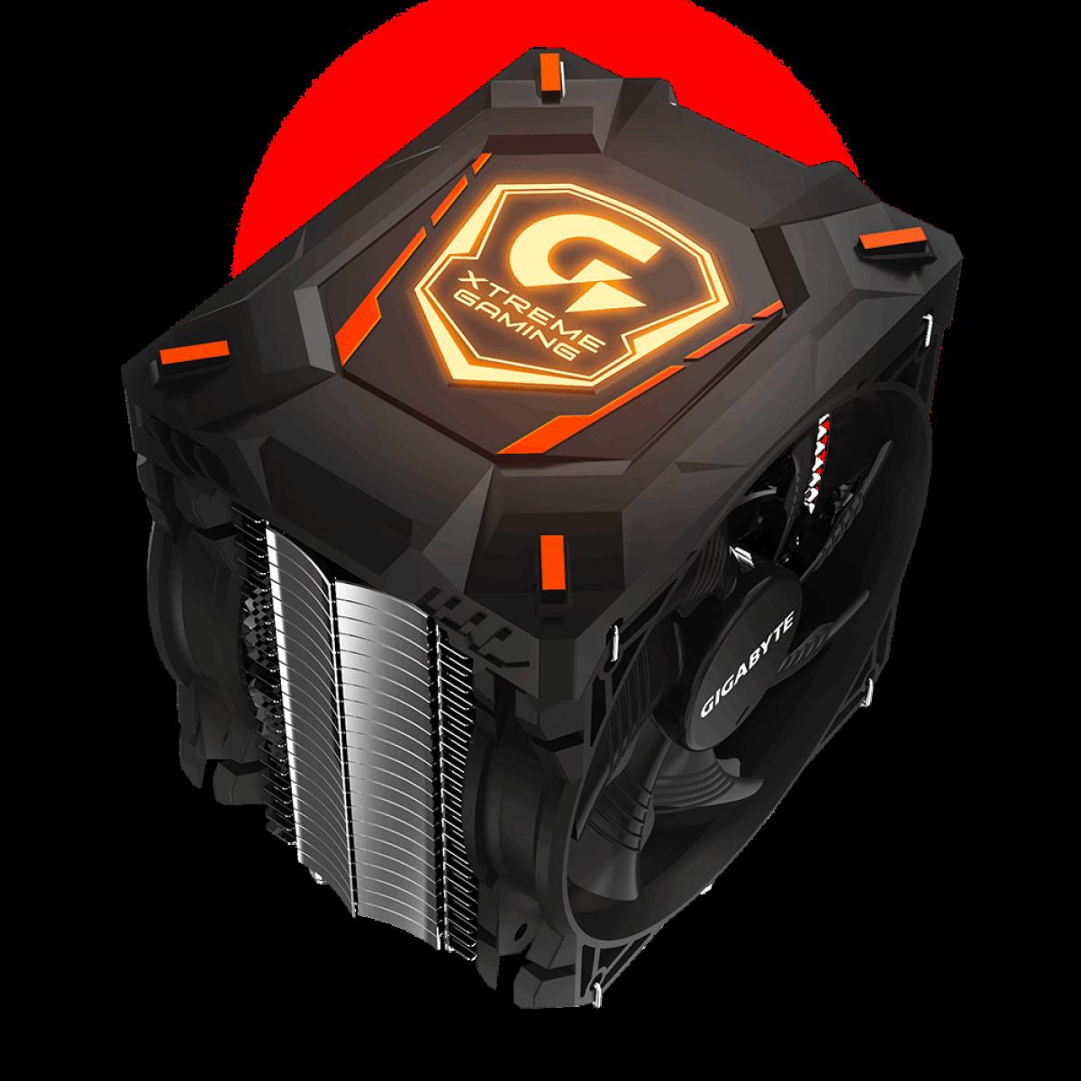 Cooler para Processador Gigabyte Xtreme Gaming XTC700, RGB 120mm, Intel-AMD, GP-XTC700