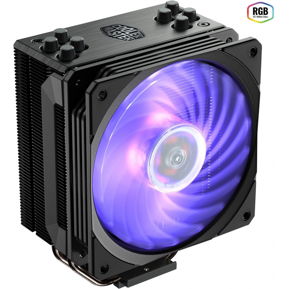 Cooler para Processador Cooler Master Hyper 212 RGB 120mm, Intel-AMD, RR-212S-20PC-R1