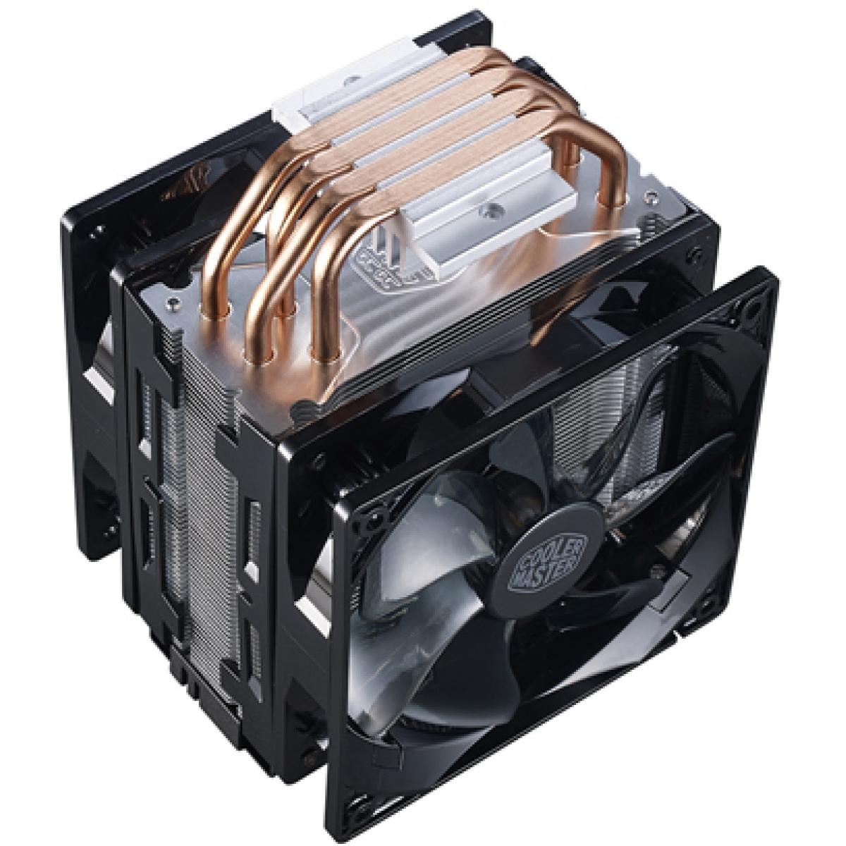 Cooler para Processador Cooler Master Hyper 212, 120mm, Intel-AMD, RR-212TK-16PR-R1