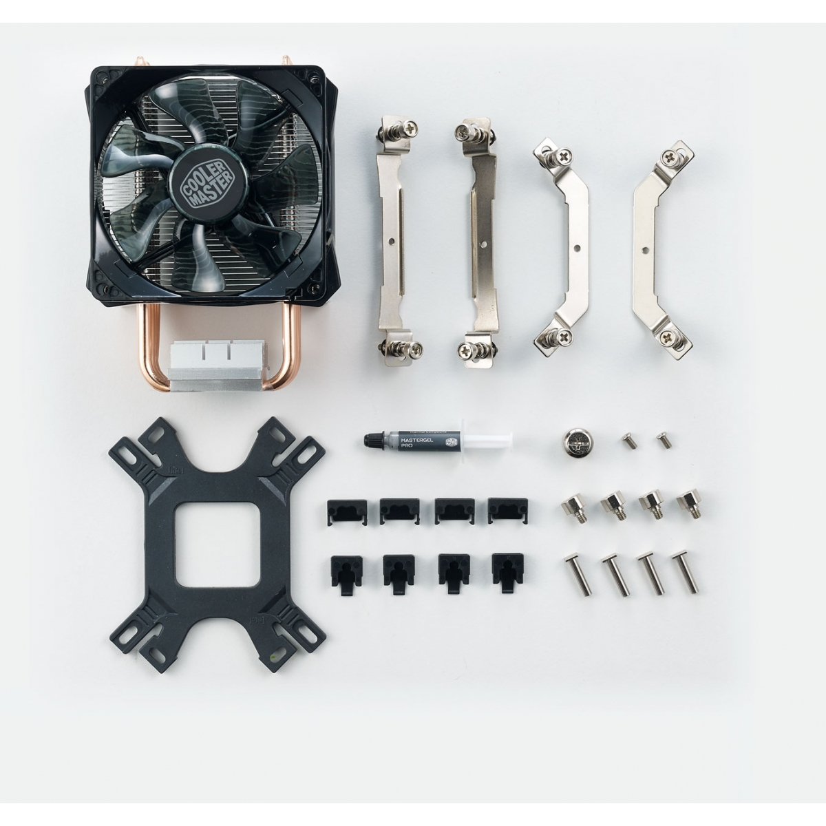 Cooler para Processador Cooler Master Hyper H412R, 92mm, Intel-AMD, RR-H412-20PK-R2