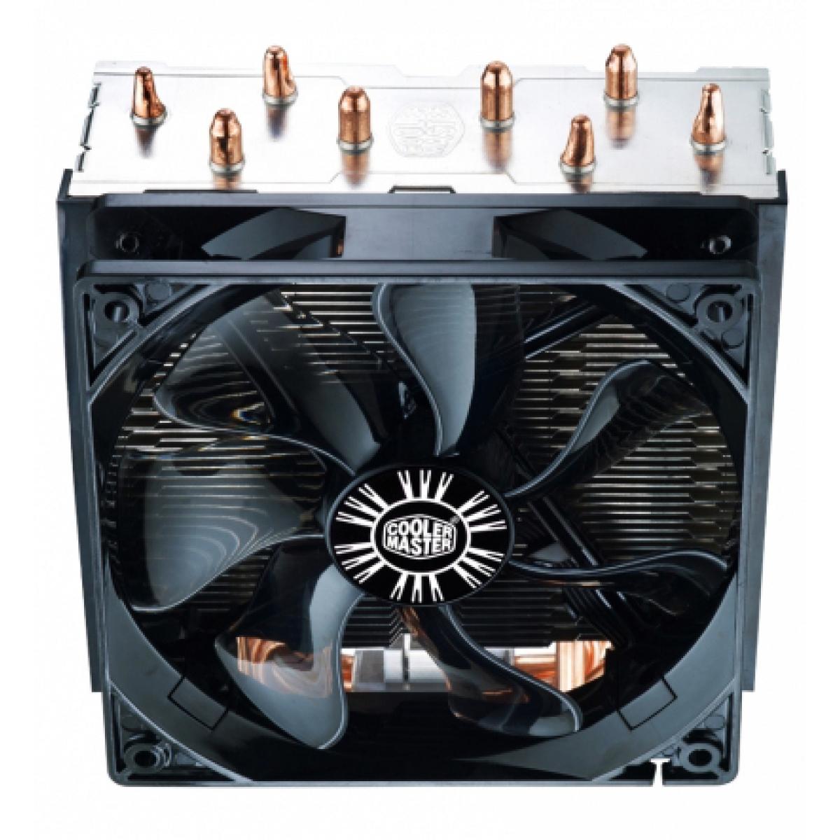 Cooler para Processador Cooler Master Hyper T4, 120mm, Intel-AMD, RR-T4-18PK-R1