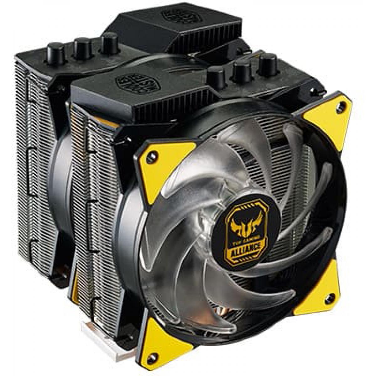 Cooler para Processador Cooler Master MA620P TUF, RGB 120mm, Intel-AMD, MAP-D6PN-AFNPC-R1