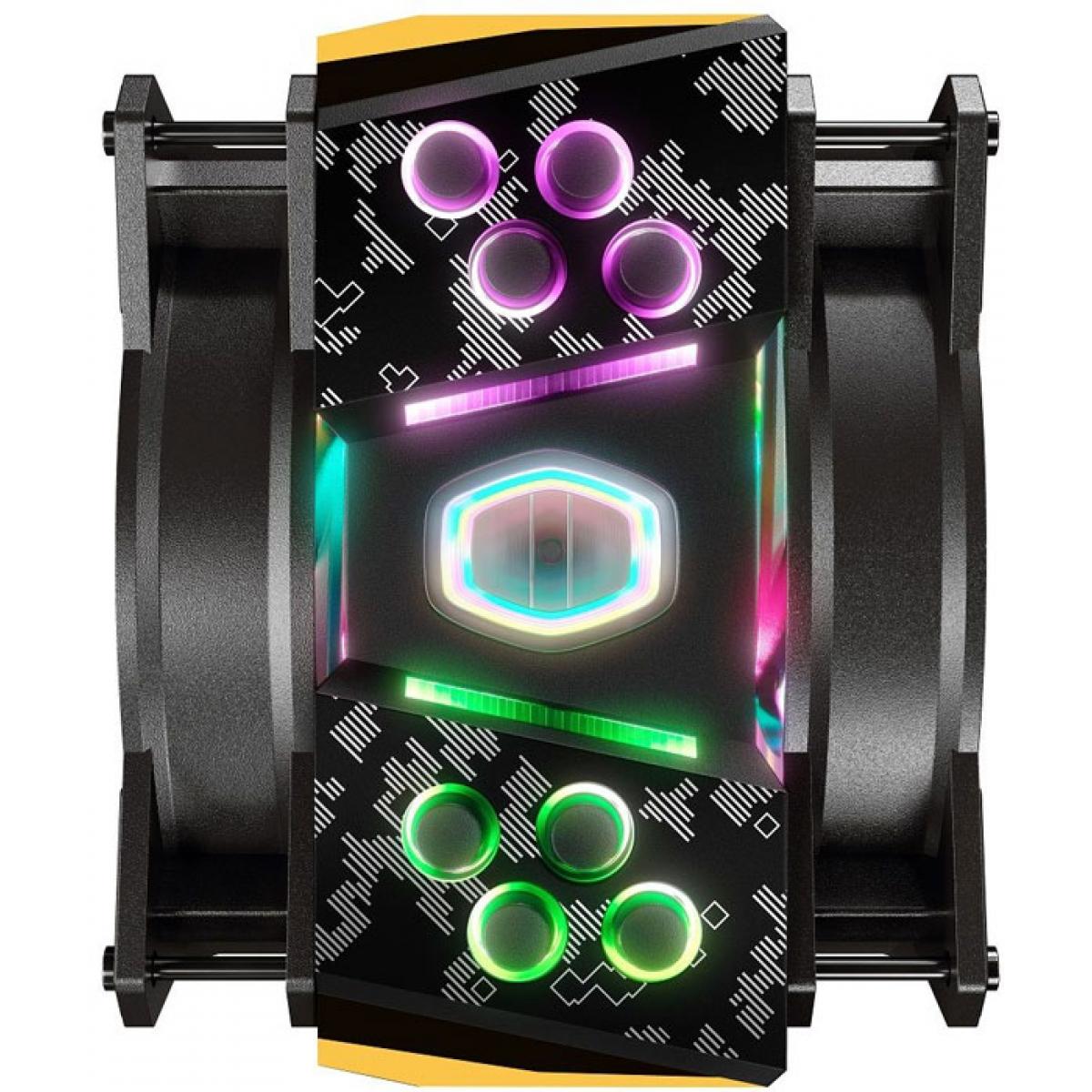 Cooler para Processador Cooler Master Masterair MA410M TUF, RGB, Intel/AMD, MAM-T4PN-AFNPC-R1