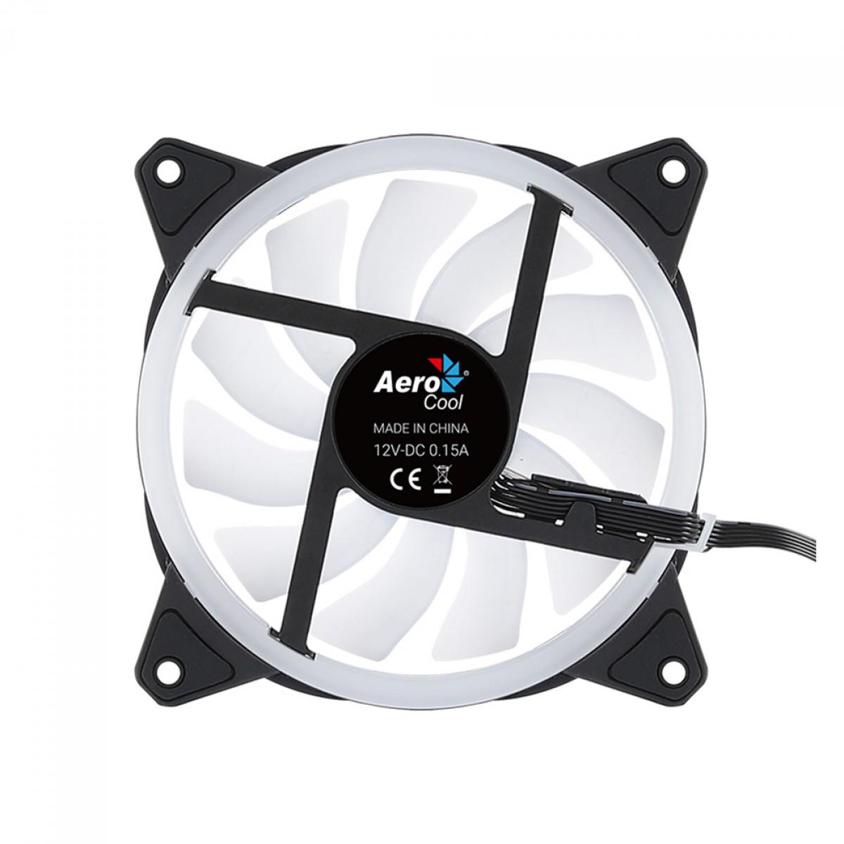 Cooler para Gabinete Aerocool Duo 12, ARGB, 120mm