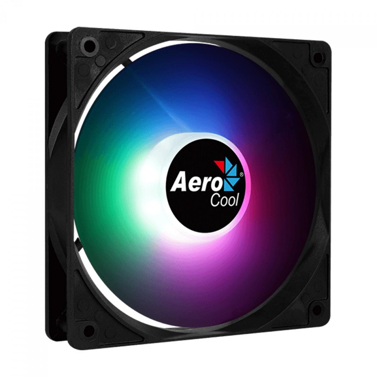 Cooler para Gabinete Aerocool Frost 12, FRGB, 120mm