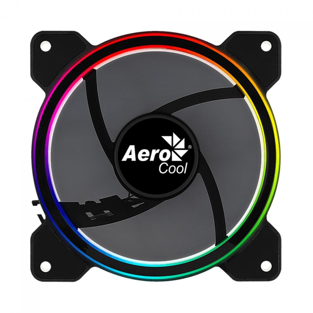 Cooler para Gabinete Aerocool Saturn 12 FRGB, 120mm