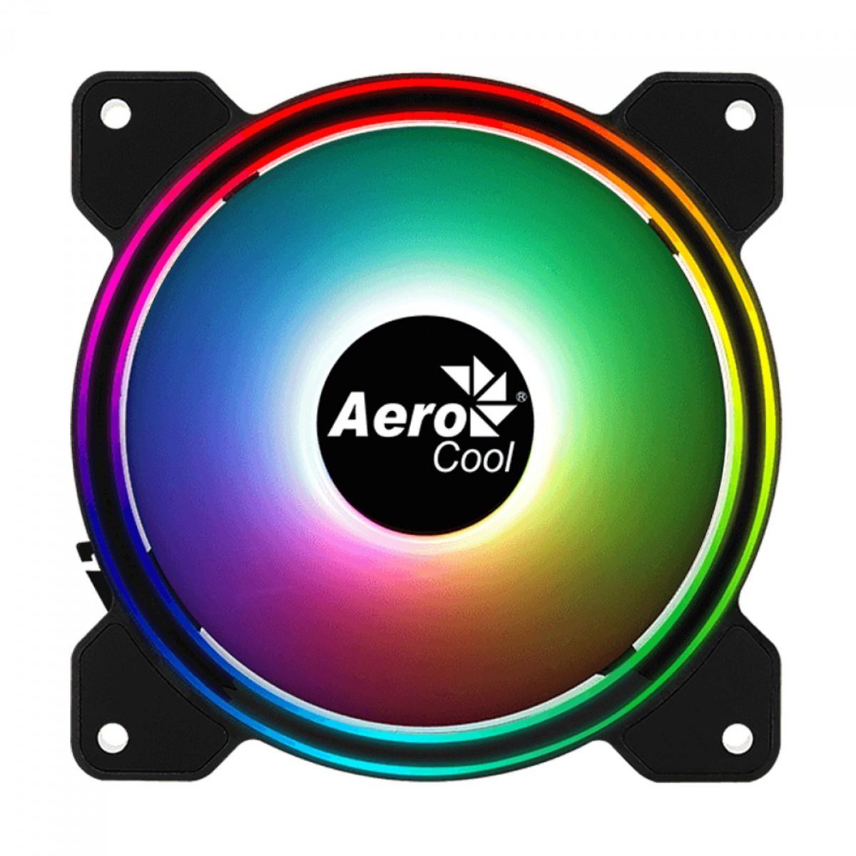 Cooler para Gabinete Aerocool Saturn 12F DRGB, 120mm