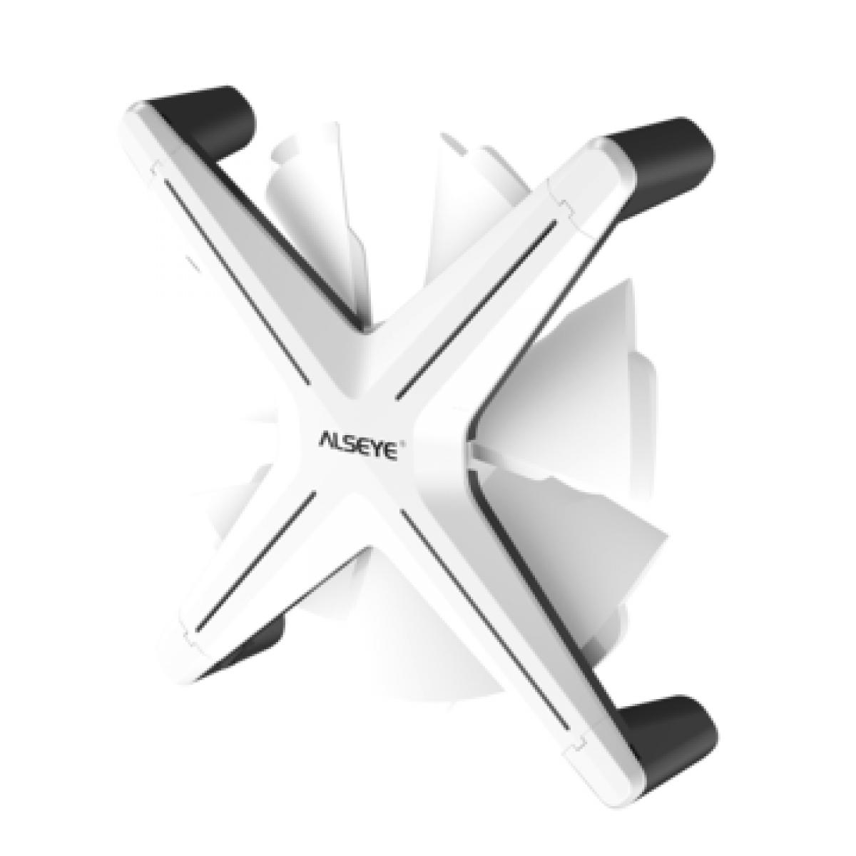 Cooler para Gabinete Alseye X12, ARGB, White, 120mm