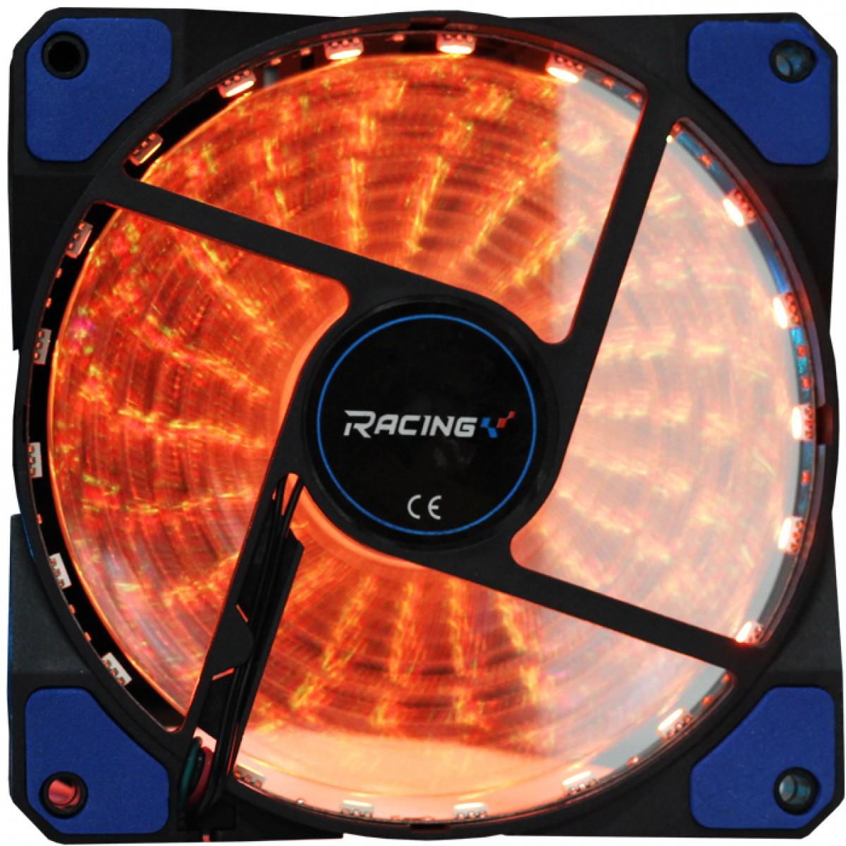 Cooler para Gabinete Biostar Racing, Vivid Led RGB 120mm