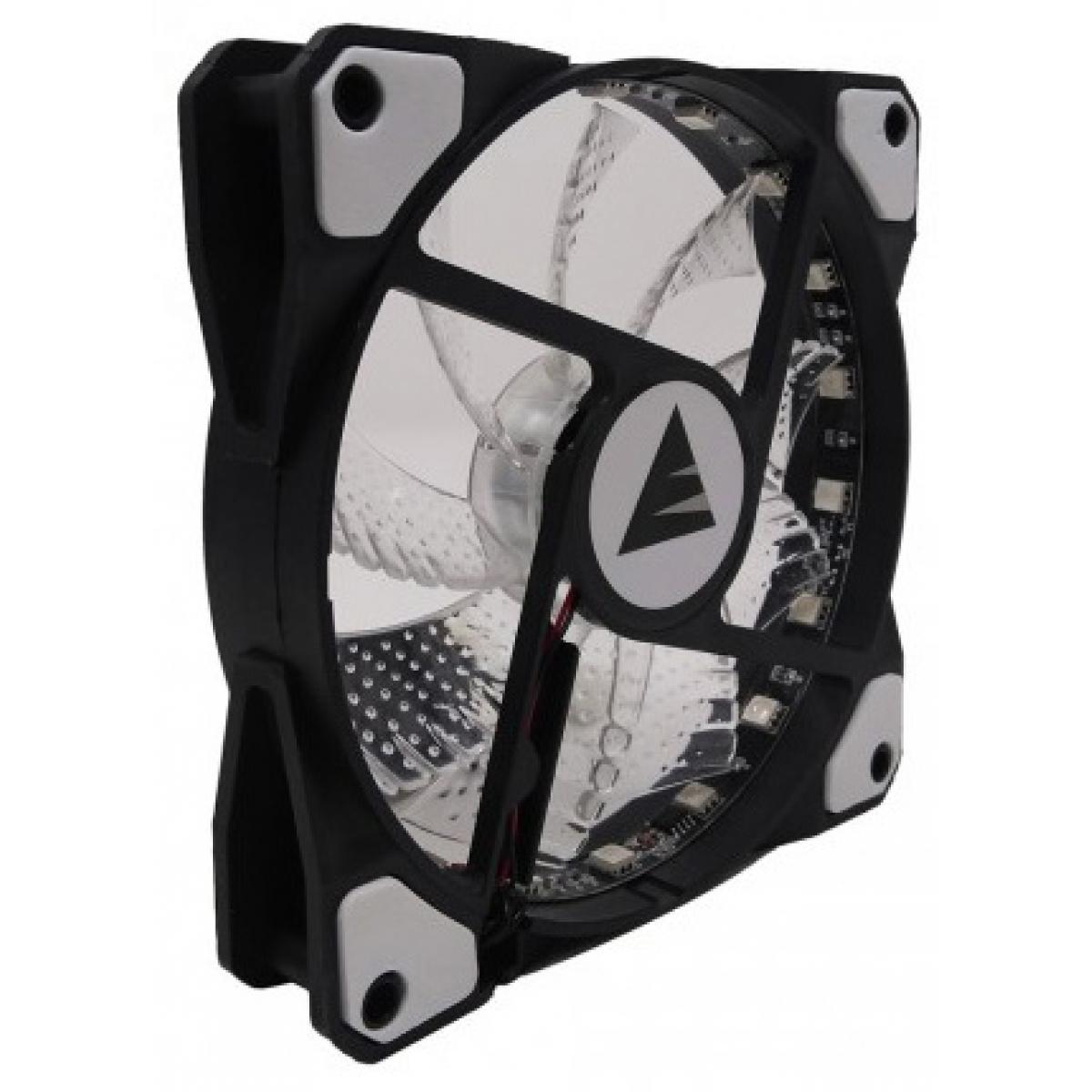 Cooler para Gabinete Bluecase BF-06RGB RGB 7 Cores 120mm