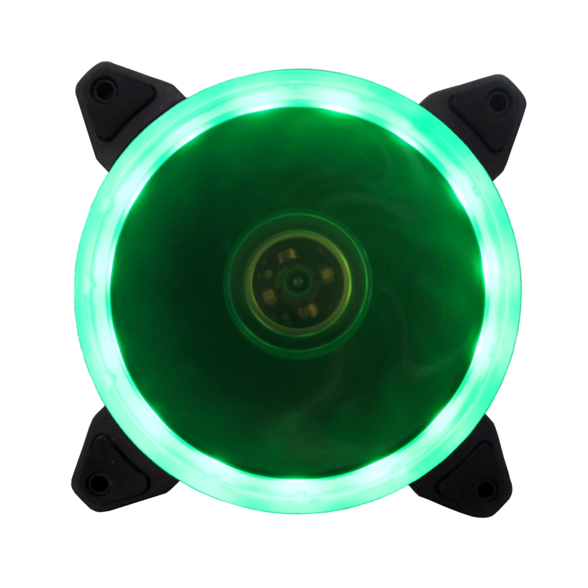 Cooler para Gabinete Bluecase Gamer Ring BF-05G LED Verde 120mm