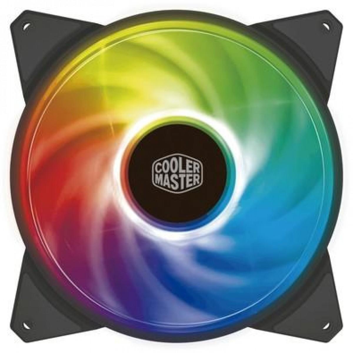 Cooler Para Gabinete Cooler Master Masterfan MF140R, ARGB 140mm, R4-140R-15PC-R1