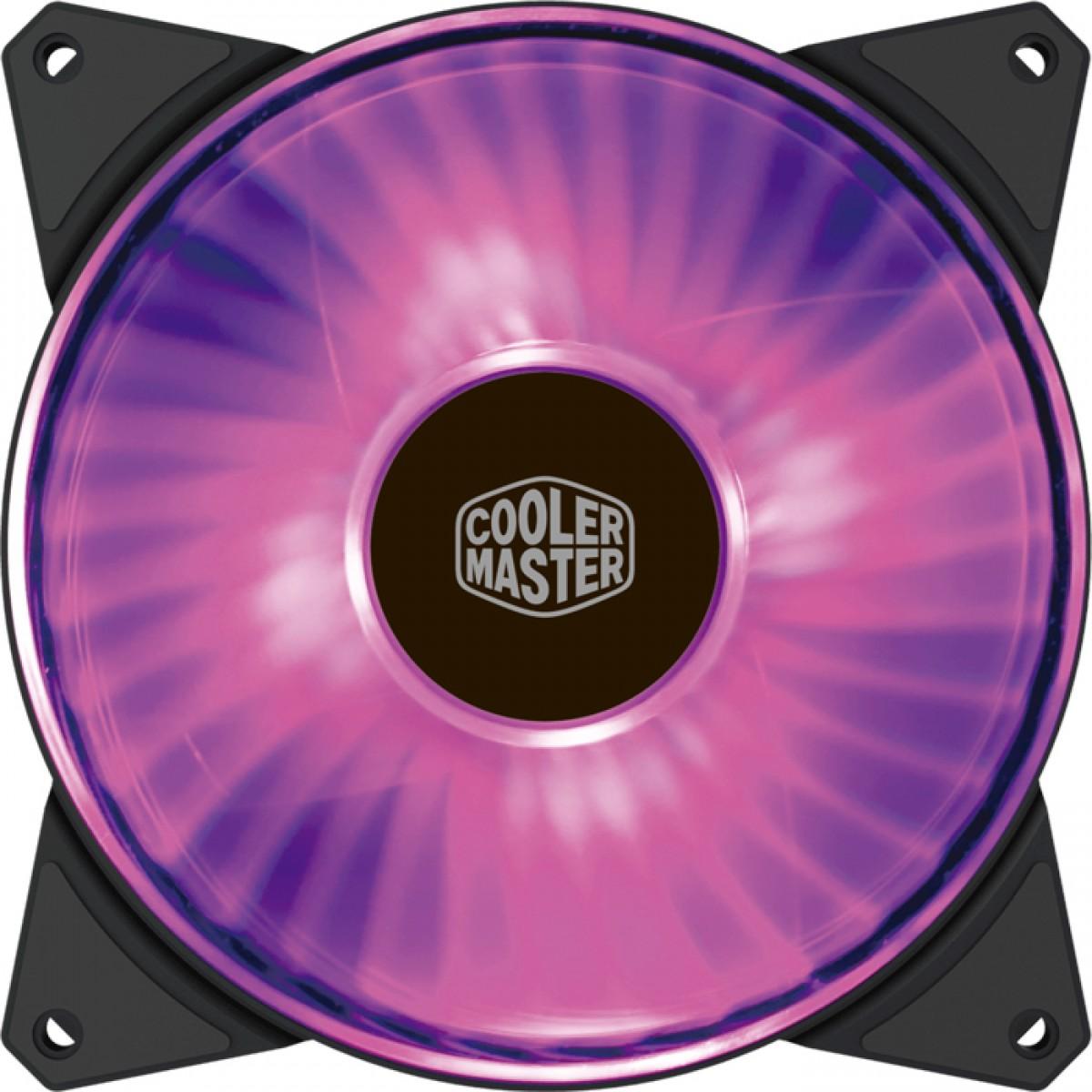 Cooler Para Gabinete Cooler Master Masterfan MF140R RGB 140mm, R4-140R-15PC-R2