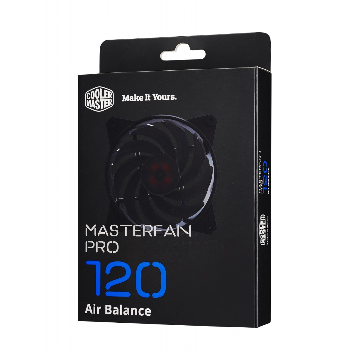 Cooler Para Gabinete Cooler Master MasterFan Pro 120 Air Balance, Black 120mm, MFY-B2NN-13NMK-R1