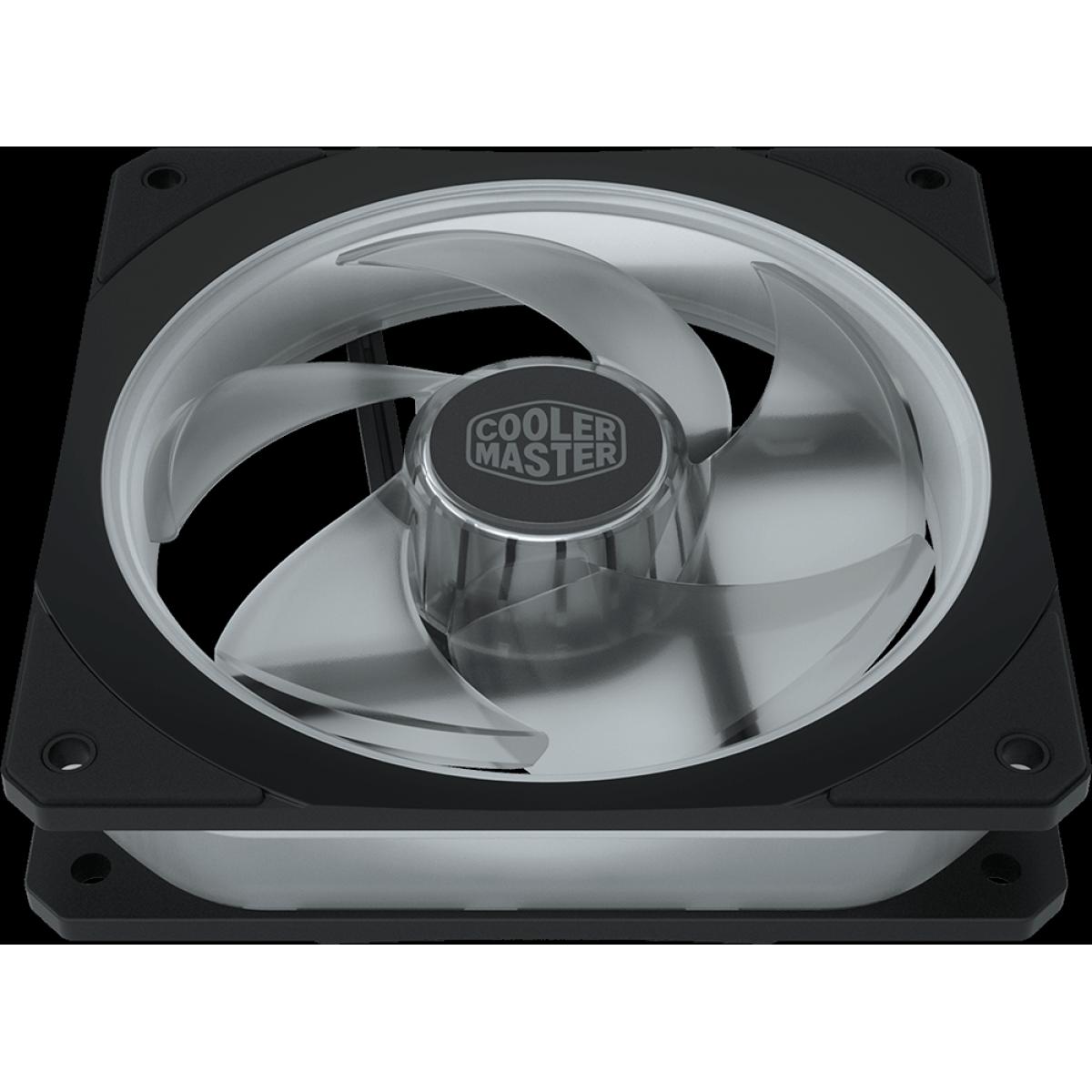 Cooler para Gabinete Cooler Master Masterfan SF120P, ARGB, 120mm, MFY-P2DN-24NPA-R1