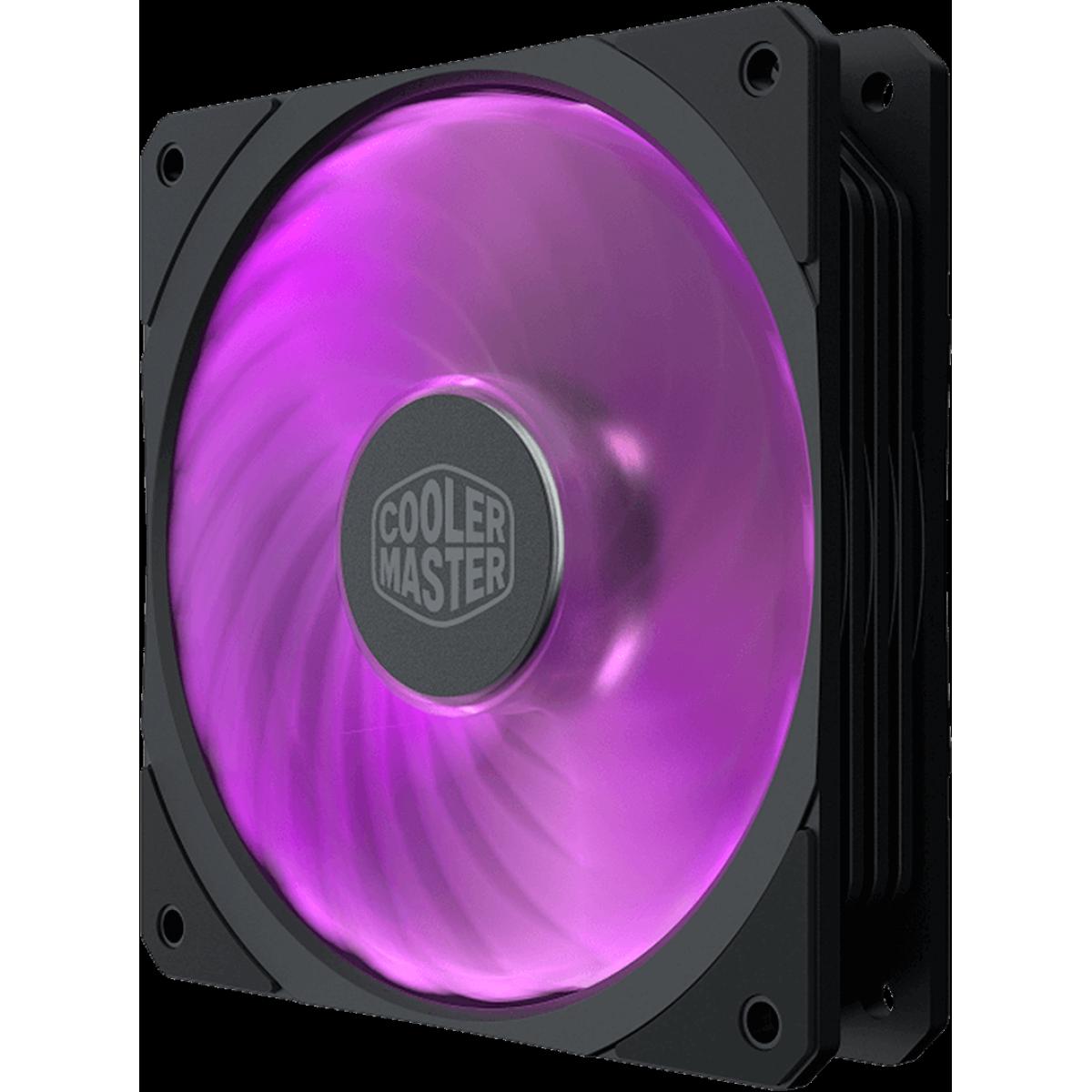 Cooler Para Gabinete Cooler Master Masterfan SF120R RGB 120mm, MFX-B2DN-20NPC-R1