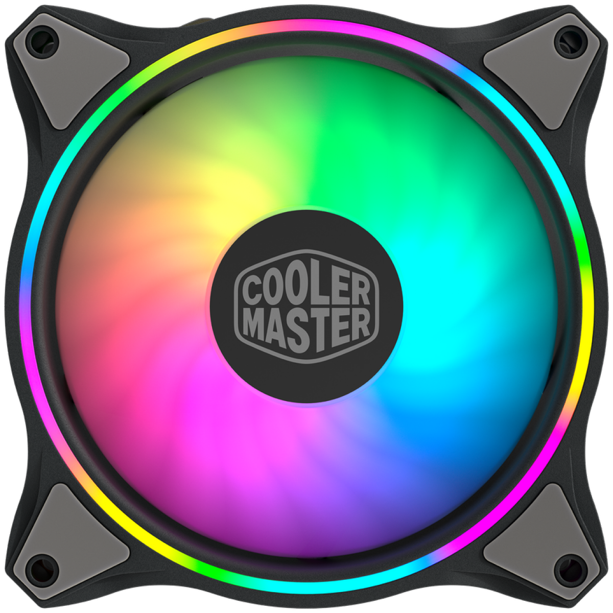 Cooler Para Gabinete Cooler Master MF120 Halo Edition, ARGB Loop Duplo, 120mm, MFL-B2DN-18NPA-R1