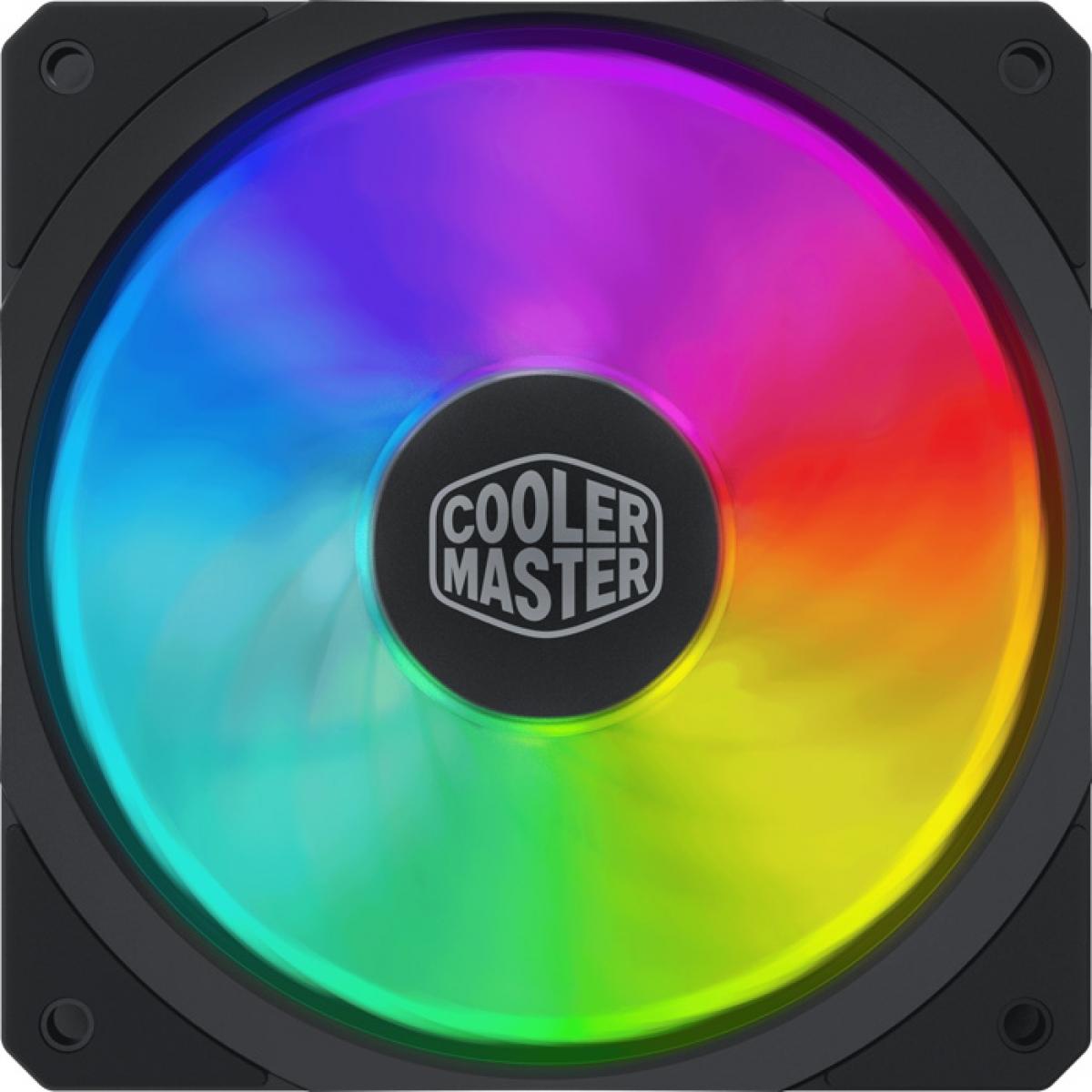 Cooler Para Gabinete Cooler Master MasterFan SF120R ARGB 120mm, MFX-B2DN-20NPA-R1