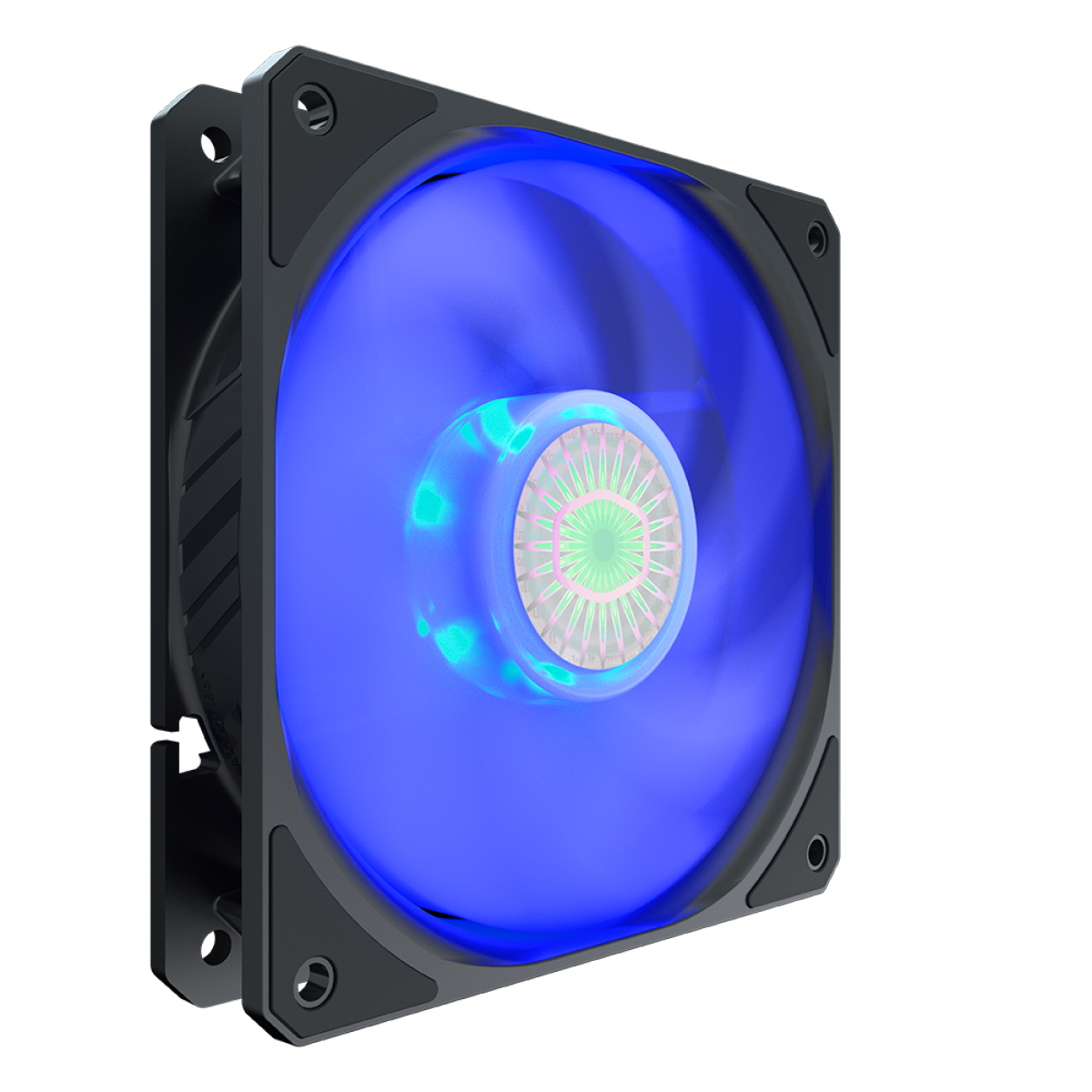 Cooler para Gabinete, Cooler Master, SickleFlow MasterFan MF120 Halo, Blue, 120mm, 1800RPM, MFX-B2DN-18NPB-R1