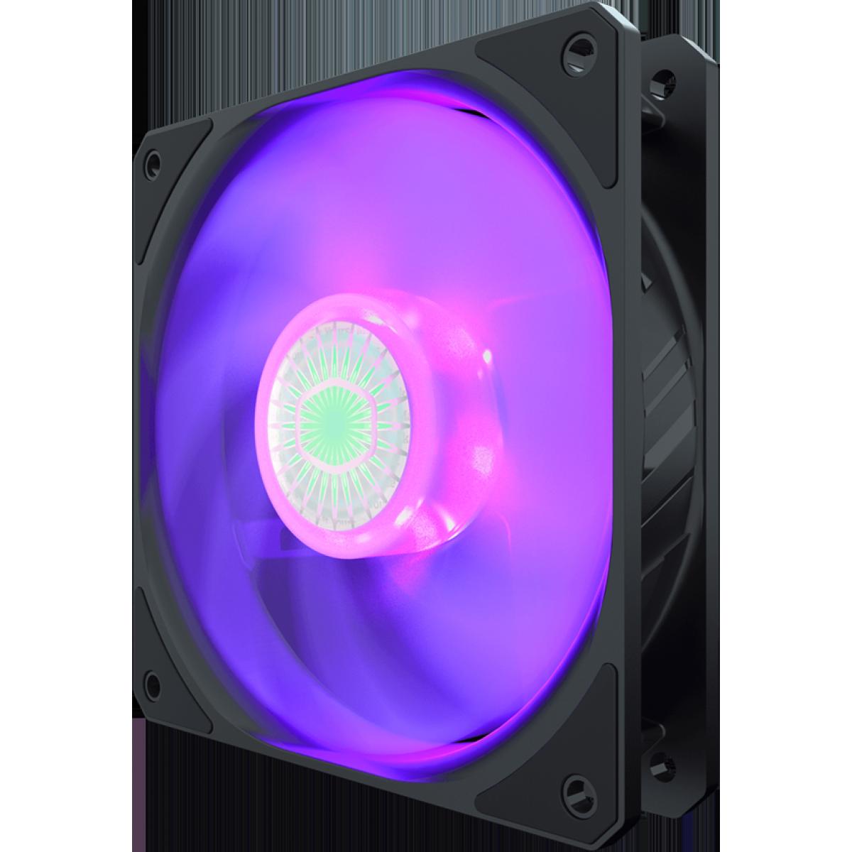 Cooler para Gabinete Cooler Master, SickleFlow RGB, 120mm, MFX-B2DN-18NPC-R1